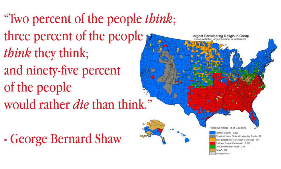 Two Percent Of The People Think Paul Salahuddin Armstrong - Religous people map us