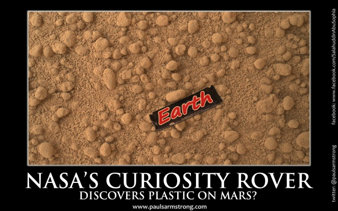 NASA's Curiosity Rover Discovers Plastic On Mars