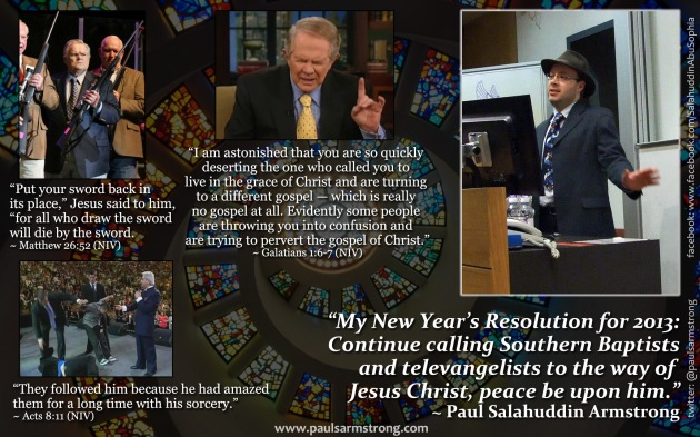 Calling Southern Baptists to the way of Jesus Christ, pbuh