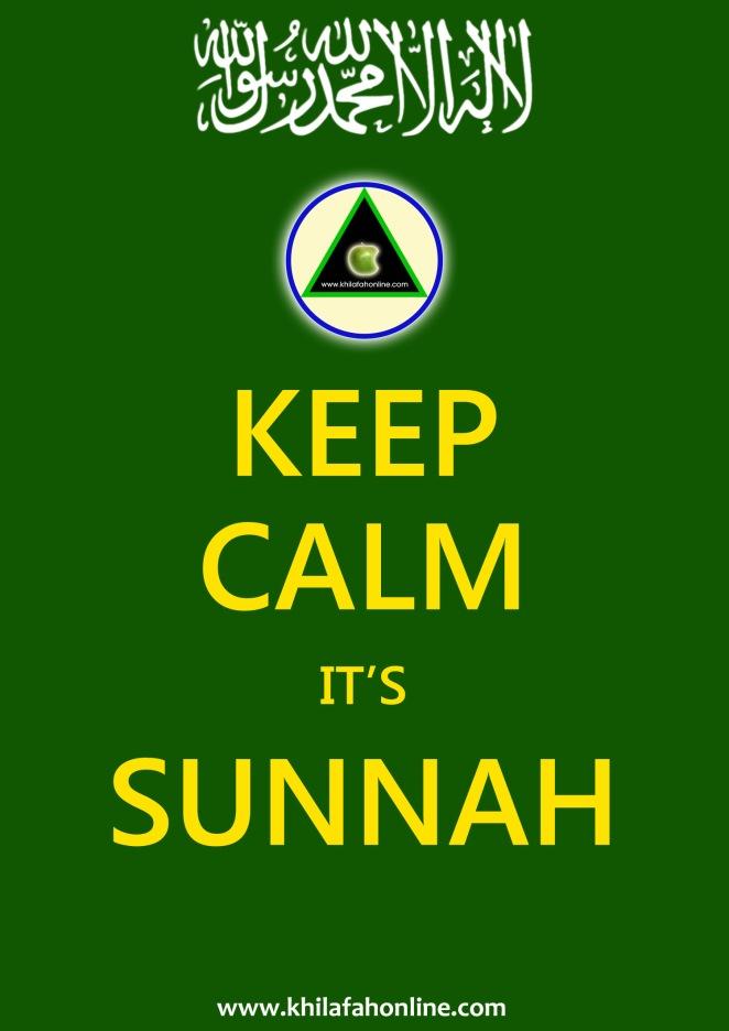 Keep Calm it's Sunnah