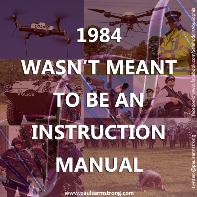 1984 wasn't meant to be an instruction manual