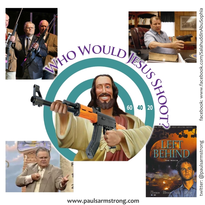 Who Would Jesus Shoot?