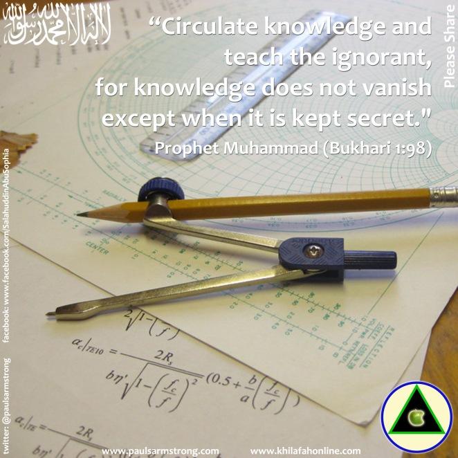 Circulate knowledge