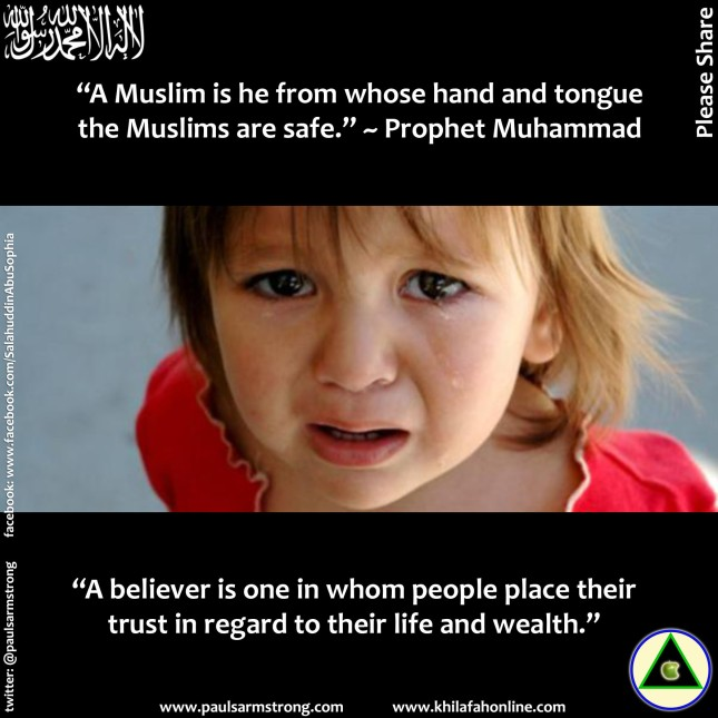 A Muslim is he from whose hand and tongue the Muslims are safe