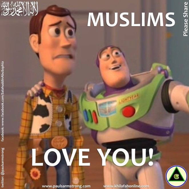 Muslims Love You!
