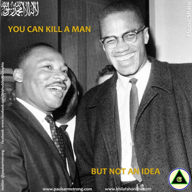 You can kill a man, but not an idea