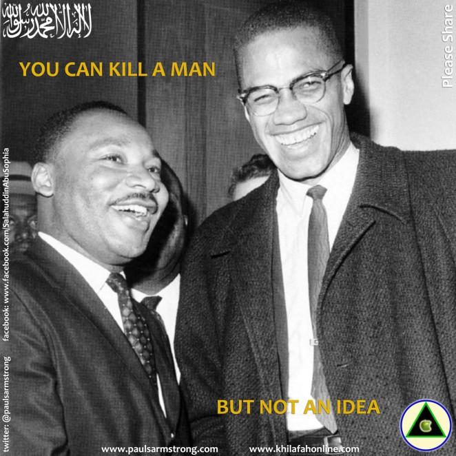 You can kill a man, but not an idea
