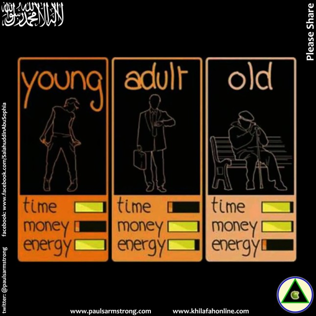 Young, Adult, Old