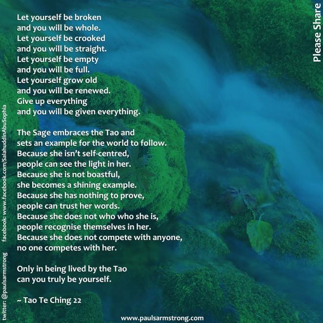 Tao Te Ching 22