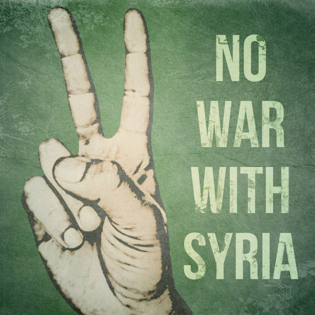 No War With Syria