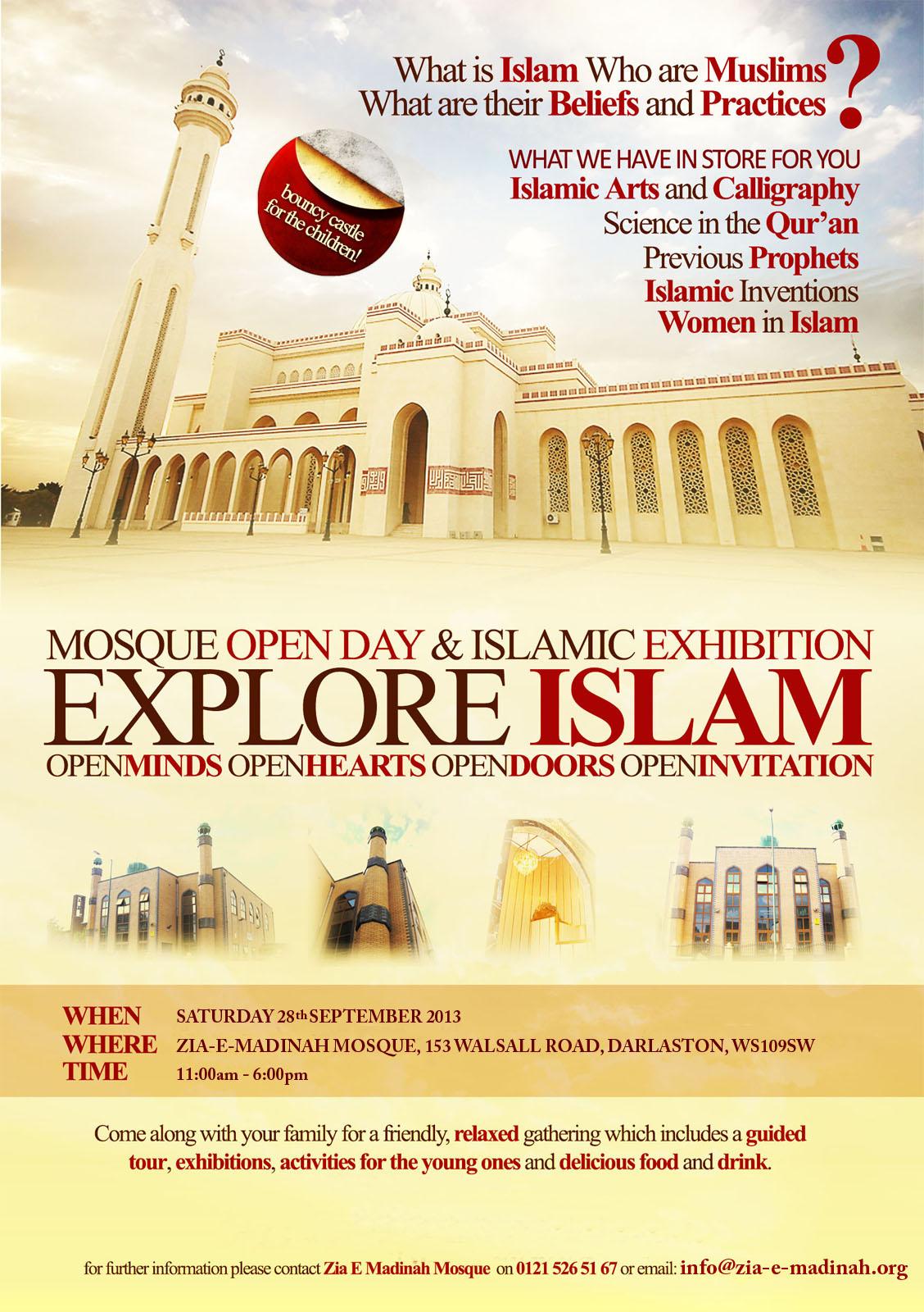 Explore Islam Darlaston West Midlands Paul Salahuddin Armstrong
