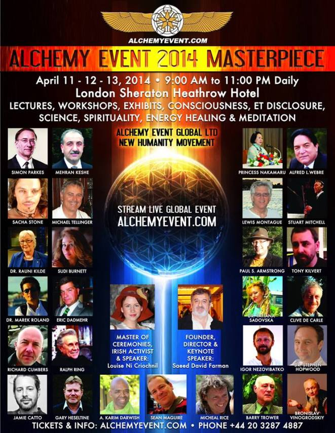 Alchemy Event 2014 London