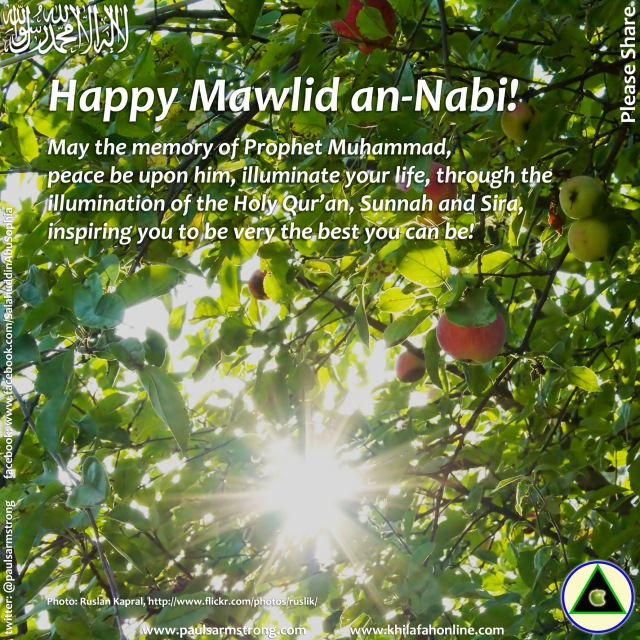 Happy Mawlid 2014