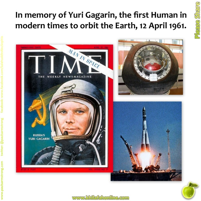 earth and yuri gagarin The bbc visits the birthplace of yuri gagarin, a village that has benefited little from its association with the soviet spaceman.