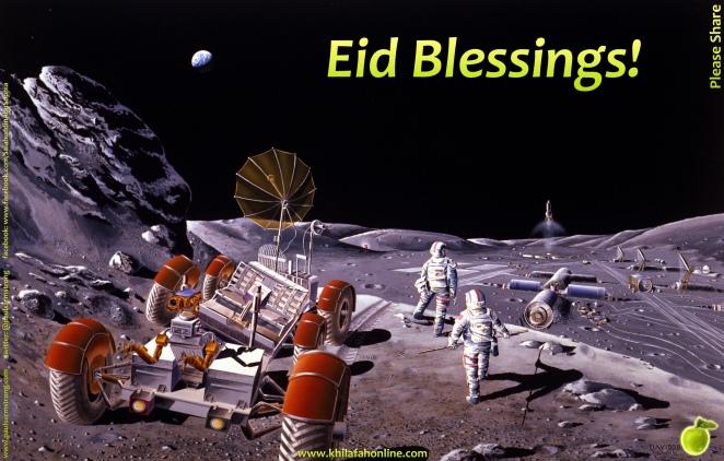 Eid Blessings - Eid al Fitr 1435/2014