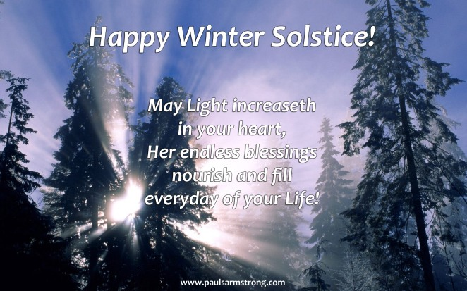 Happy Winter Solstice 2014