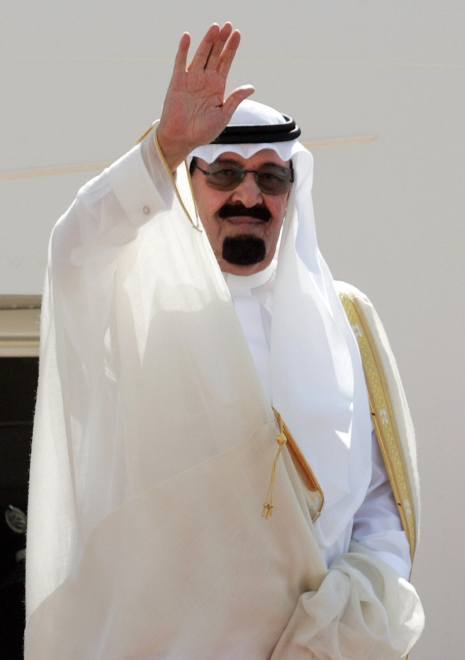 Saudi King Abdullah bin Abdul Aziz al-Sa