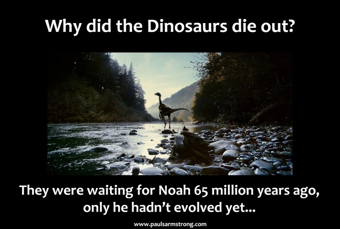 Why did the dinosaurs die out?