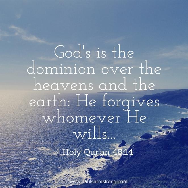 He forgives whomever He wills