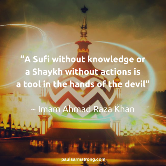 A Sufi without knowledge