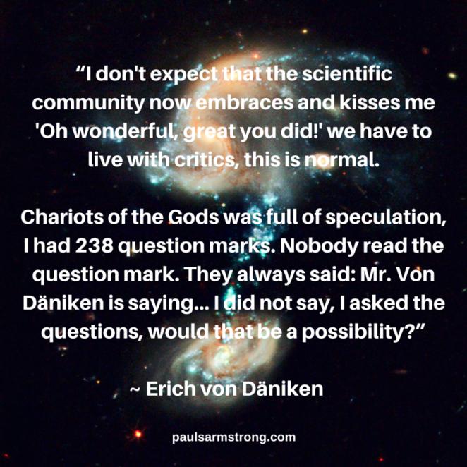 Erich von Däniken - Question Marks