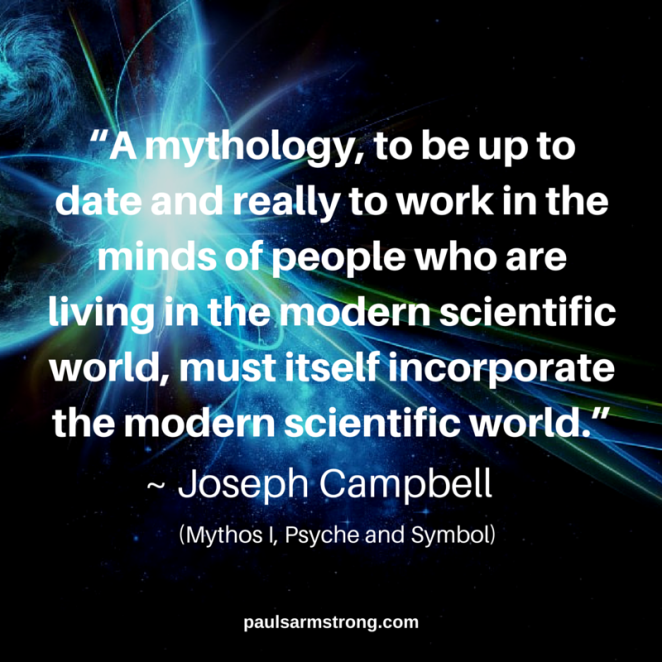 Joseph Campbell - A mythology, to be up to date and really to work