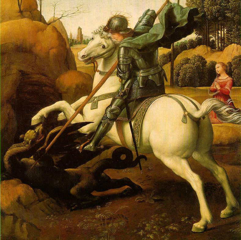 Saint_george_raphael (cropped)