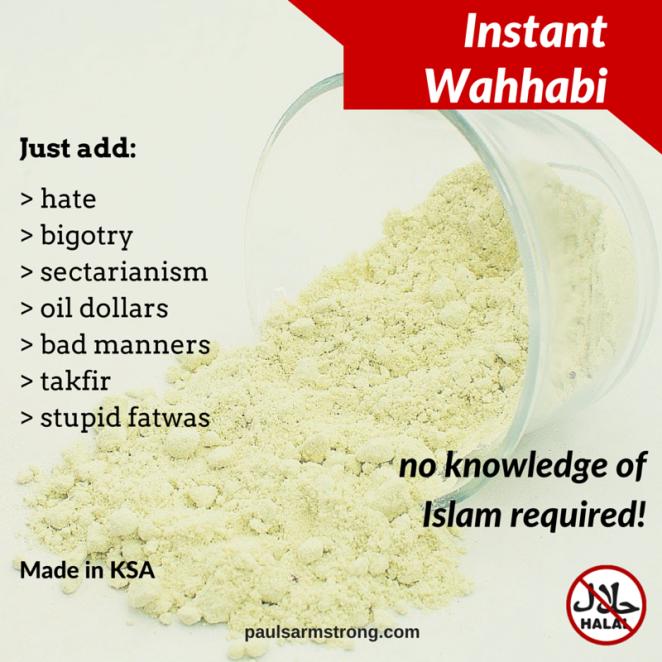 Instant Wahhabi