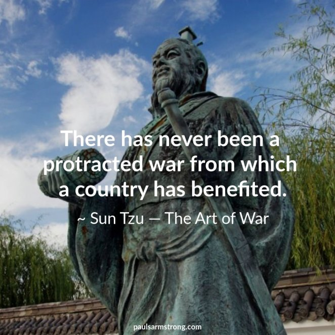 Image result for protracted war sun tzu
